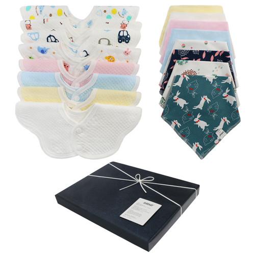Joyfay 16 Pack Baby Bandana Drool Bibs – Elected Baby Gift Choice for Parents