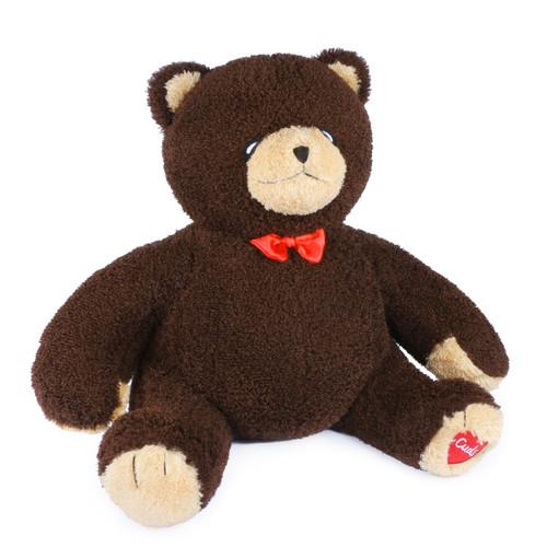 A Tiny Teddy named Cuds, 3 Feet Teddy Bear Plush Toys, Big Chocolate Brown