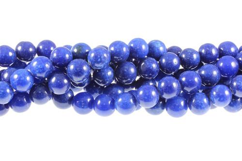 "12mm Lapis Lazuli Round Beads 15.5"" dyed"