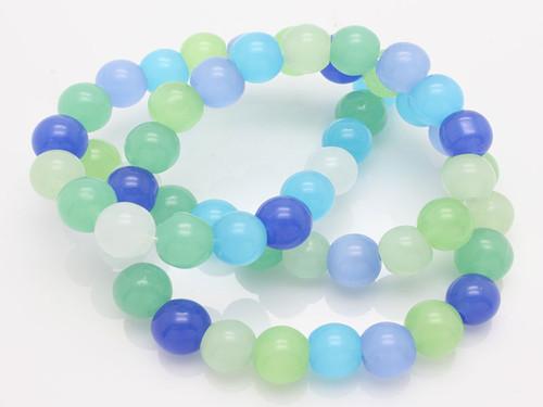 "6mm Mix Quartz Round Beads 15.5"" synthetic [6x2]"