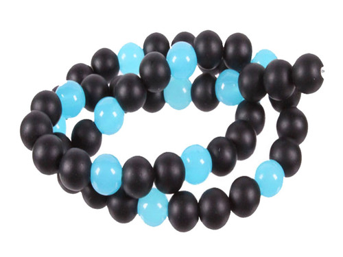 """4mm Agate & Chalcedony Round Beads 15.5"""" [4x38]"""