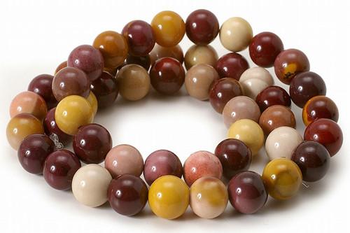"""10mm Mooakite Round Beads 15.5"""" [10r35]"""