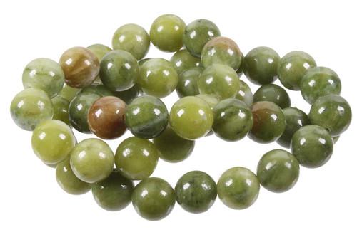 """4mm Nephrite Jade Round Beads 15.5"""""""
