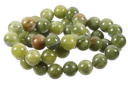 "6mm Nephrite Jade Round Beads 15.5"" [6a18]"