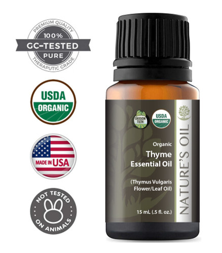 Certified Organic Thyme Essential Oil
