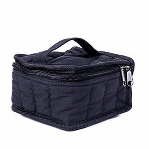 16 Count Black Canvas Essential Oil Bag / Carrying Case