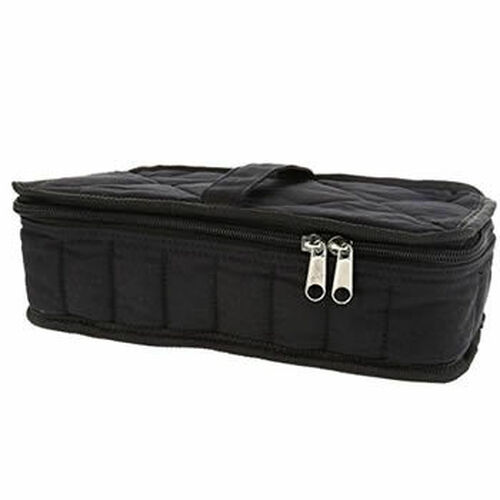32 Count Black Canvas Essential Oil Bag / Carrying Case