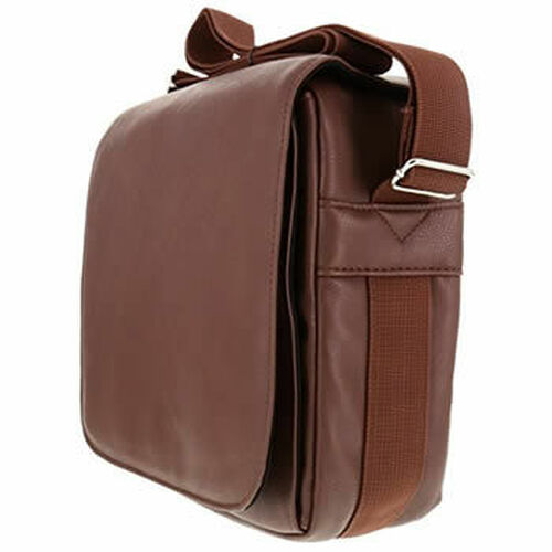 64 Count Faux Brown Leather Essential Oil Bag / Carrying Case
