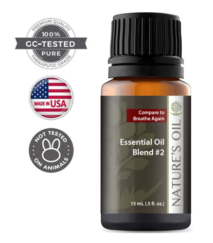 Breathe Again Essential Oil Blend