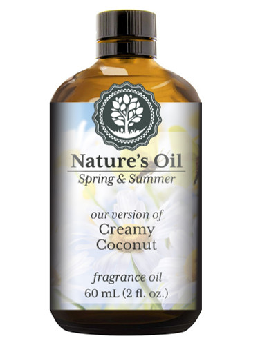 Creamy Coconut Fragrance Oil (Our Version of Bath and Body Works)