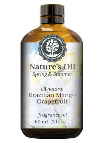 Brazilian Mango Grapefruit (all natural) Fragrance Oil