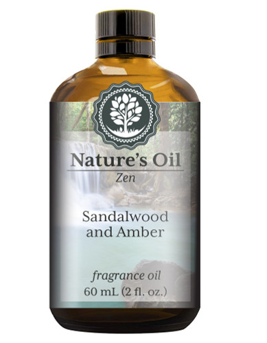 Sandalwood and Amber Fragrance Oil