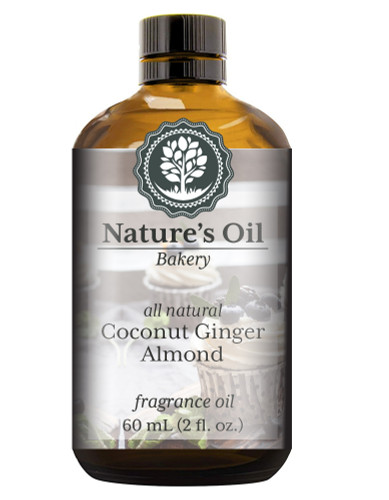 Coconut Ginger Almond (all natural) Fragrance Oil