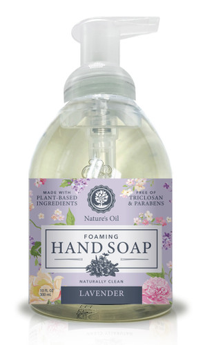 Lavender 10 oz Foaming Hand Soap