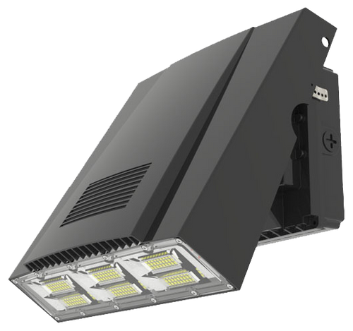Adjustable LED WALL PACK LIGHT, 100W,  400W EQUIVALENT, 12,000 LUMEN, 5000K
