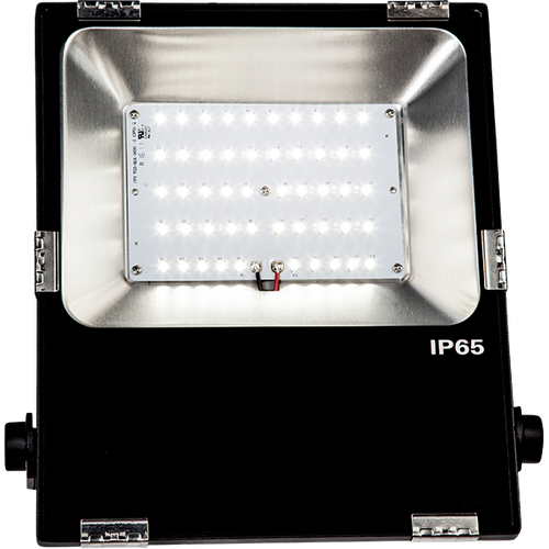 LED Flood light fixtures with IP 65 Water proof rating & 100,000 hour L70 life rating
