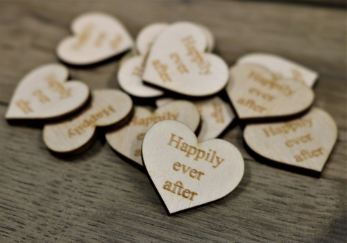Table Confetti Happily Ever After