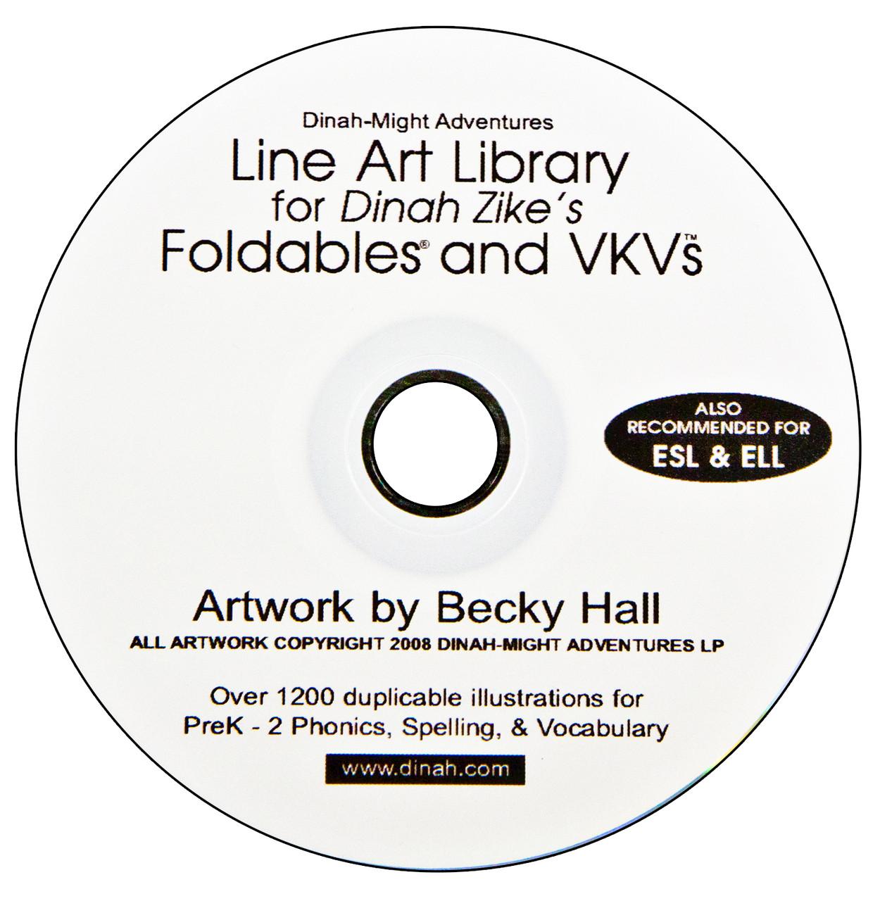 Line art cd