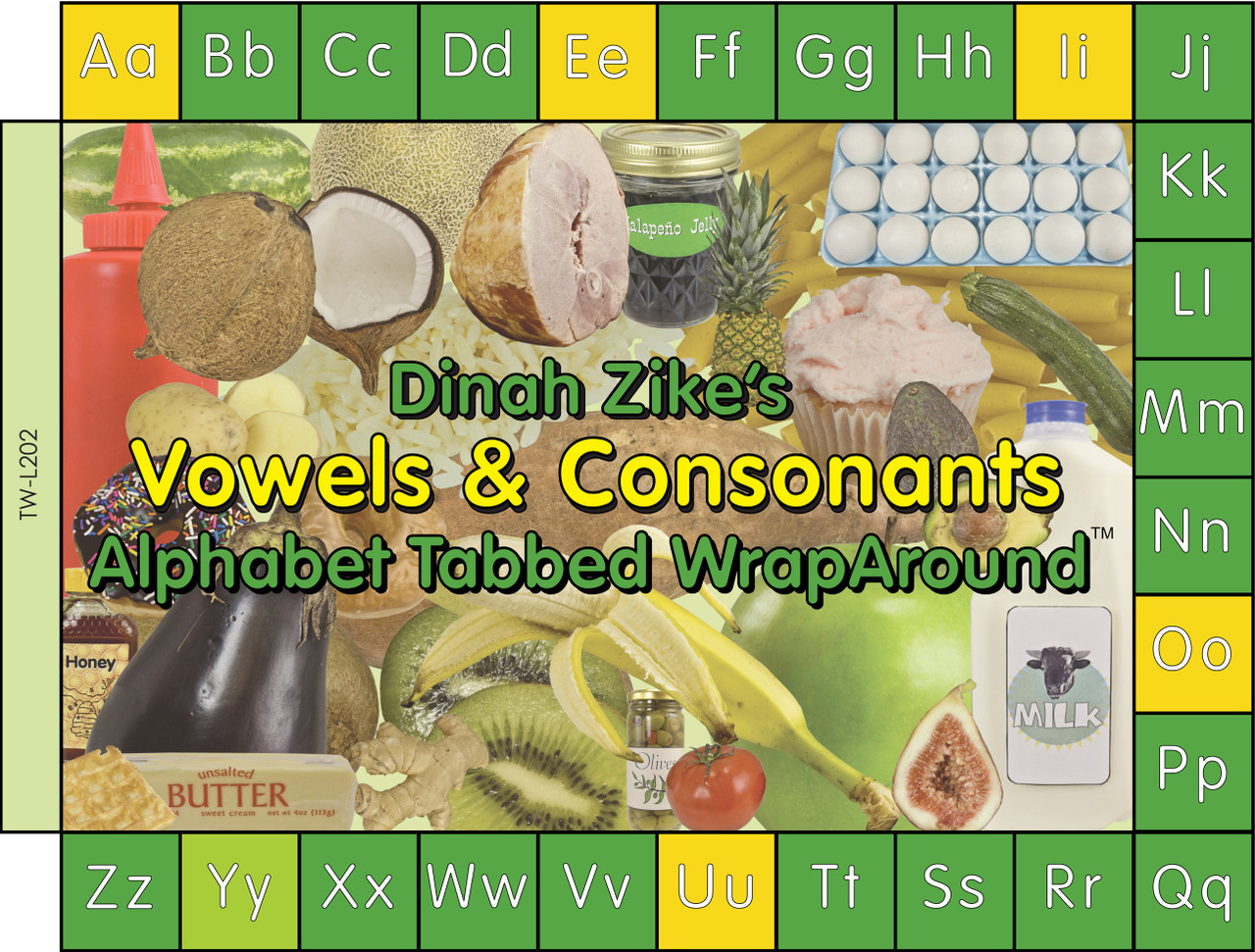 Vowels and consonants twa cover