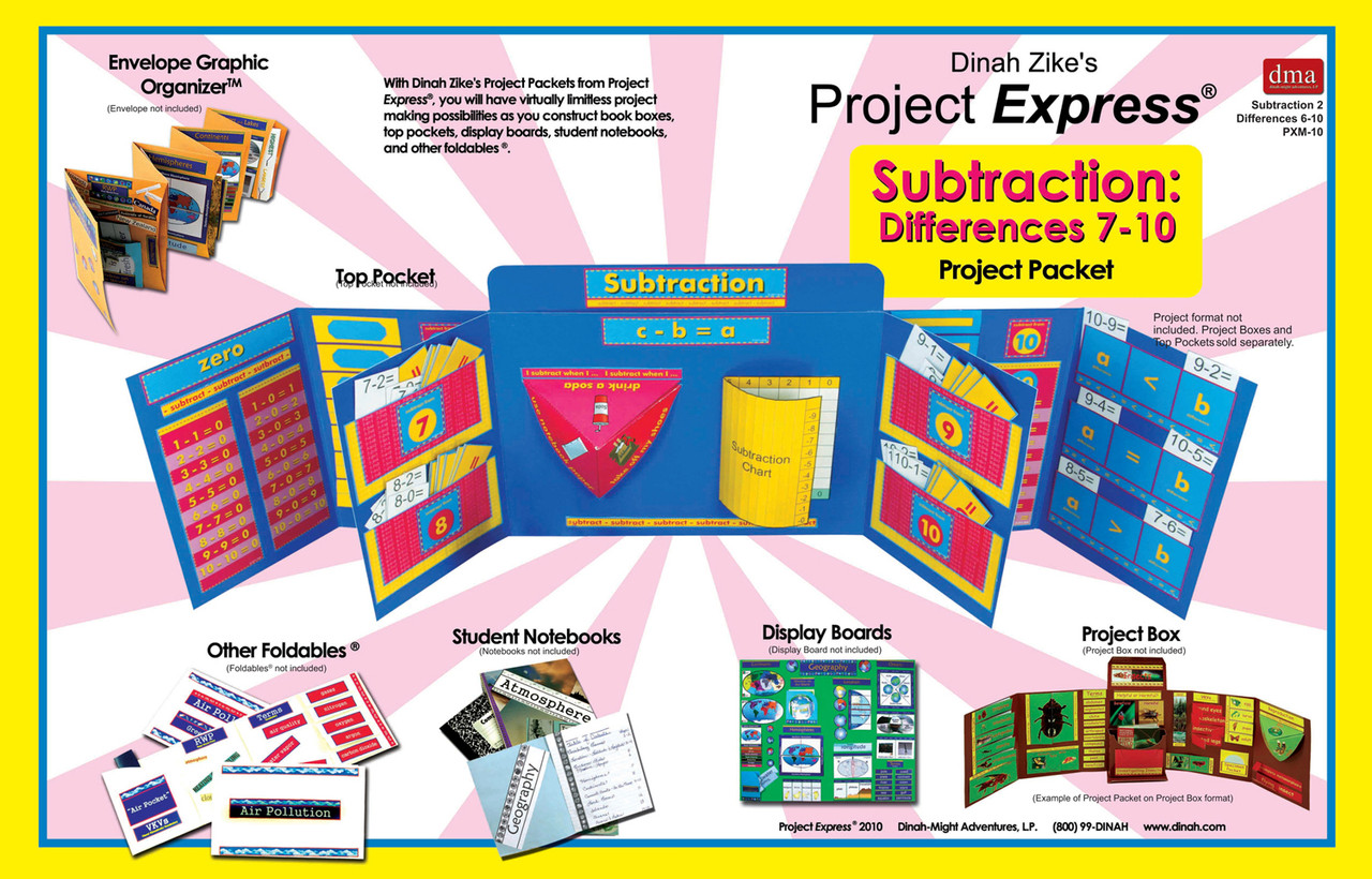 Subtraction differences 7-10-2