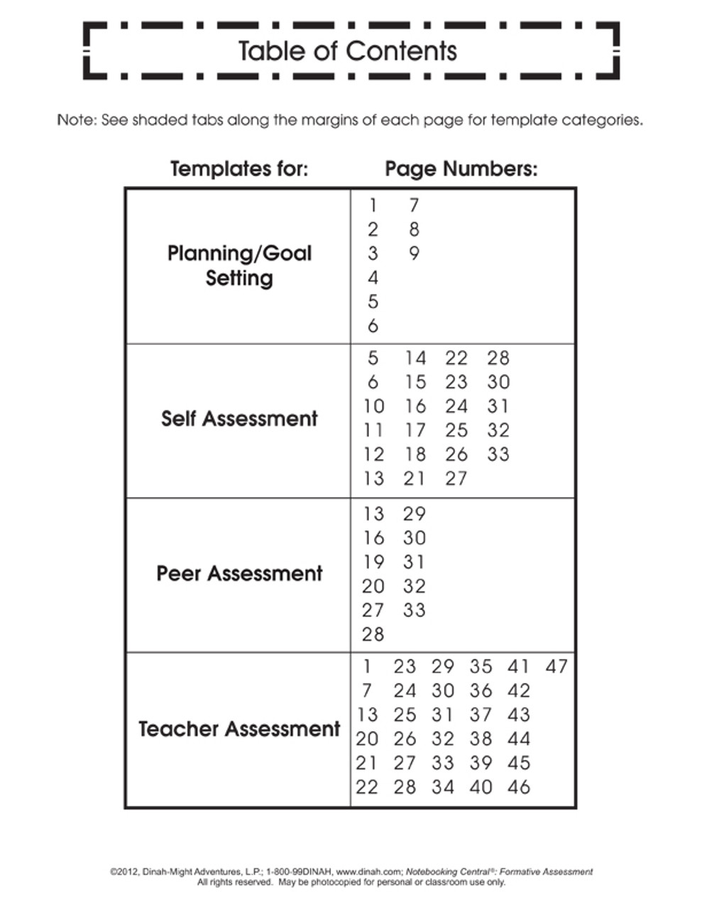 Dinah Zike S Notebooking Central Notebook Foldables Formative Assessment Dinah Com