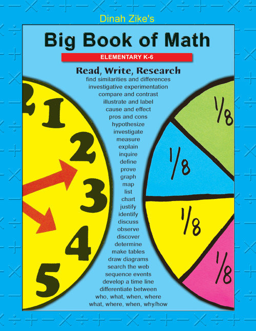 Math k-6 front cover