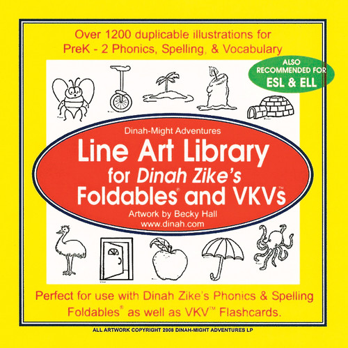 Line art cd package