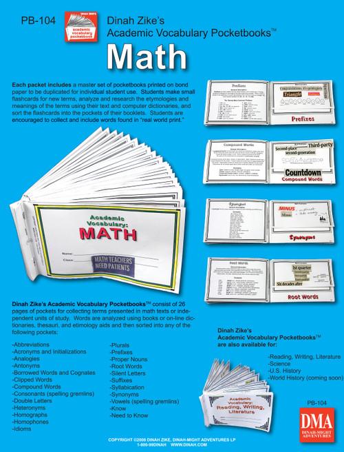 Pocketbook math