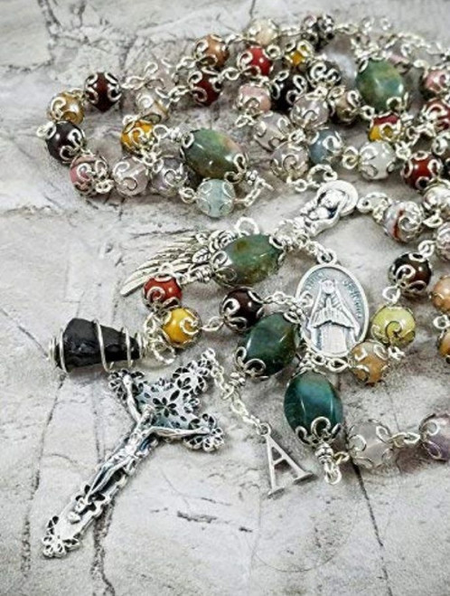 Child Infant Loss Miscarriage St Catherine of Sienna Emotional Healing Rosary