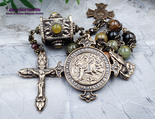 Lady of the Rosary Bronze Chaplet
