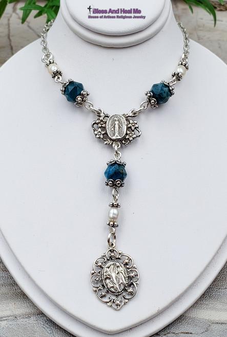 Lourdes Sterling silver Necklace