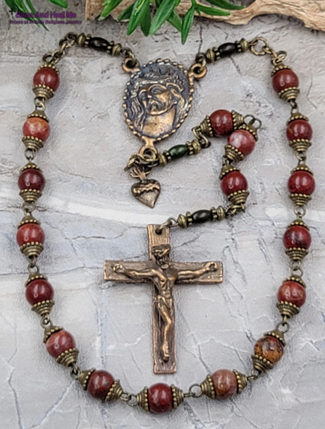 Fifteen Secret Tortures and Suffering of Jesus Chaplet
