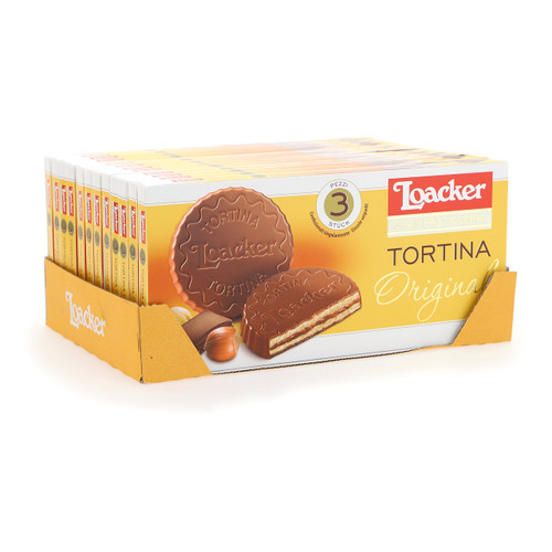Loacker Tortina 21gx3x12 Original