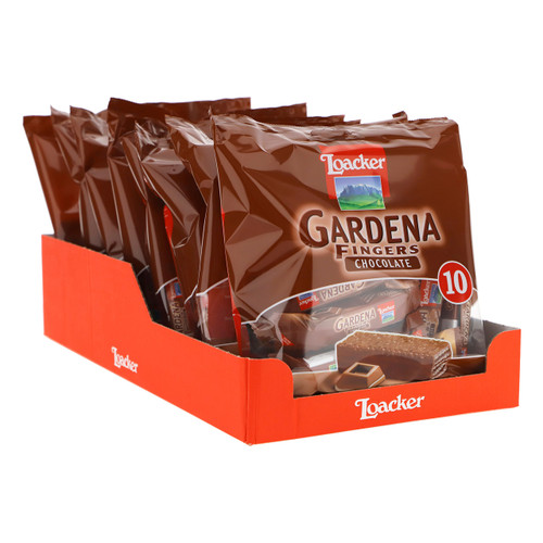 Loacker Gardena Fingers 125gx8 Chocolate