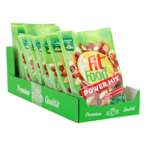Kluth Fit Food 150gx10 Power Mix