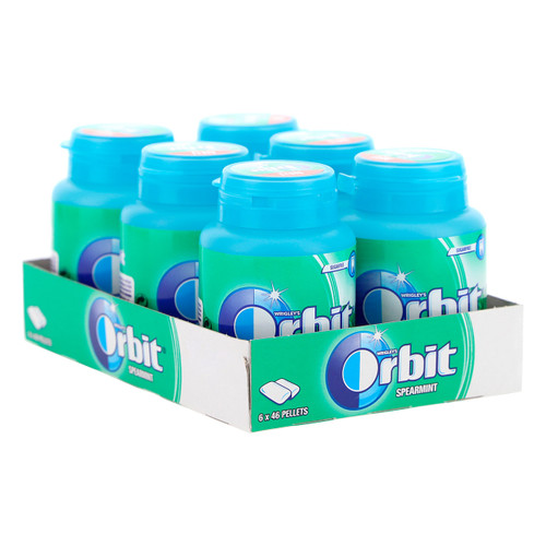 Wrigley Orbit Bottle 64gx6 Menta - Baseline