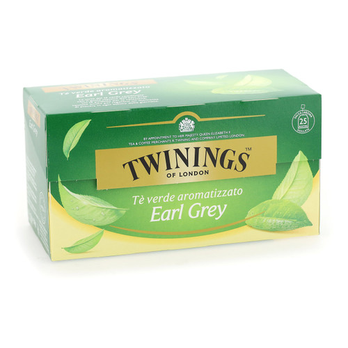 Twinings Te verde 25ff x12 Earl Grey Green Tea
