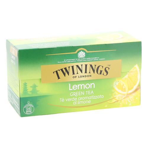 Twinings Te verde 25ff x12 al Limone