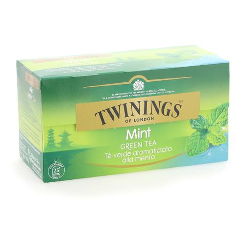 Twinings Te verde 25ff x12 alla Menta
