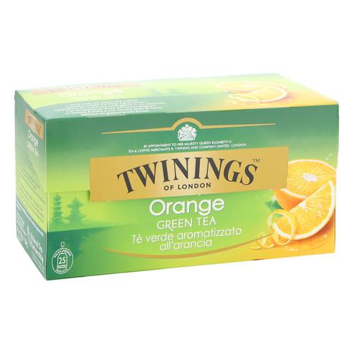 Twinings Te verde 25ff x12 all'Arancia