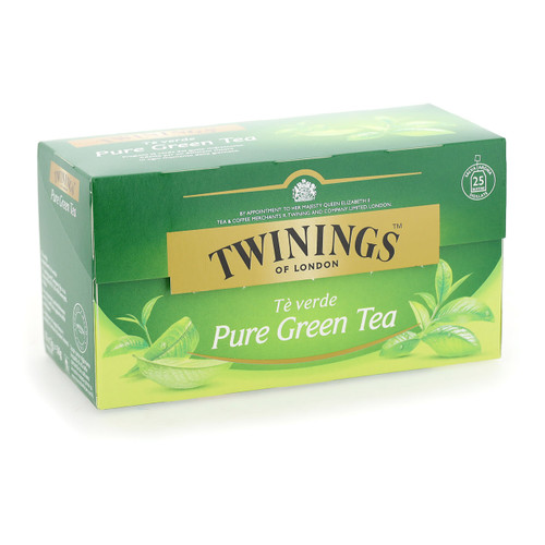 Twinings Te verde 25ff x12 Pure Green Tea