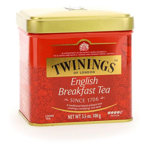 Twinings Classic Tea 100g x6 English Breakfast sfuso latta