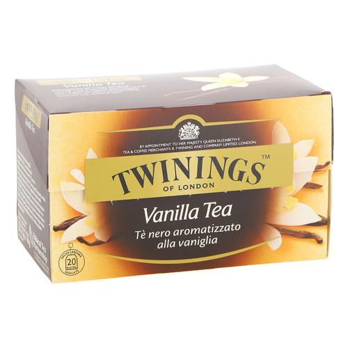 Twinings Te nero Fruttato 20ff x12 Vanilla