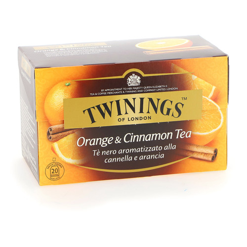 Twinings Te nero Fruttato 20ff x12 Orange e Cannella