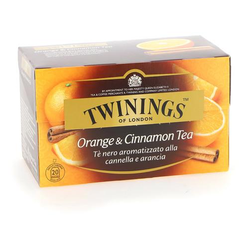 Twinings Te nero Fruttato 20ff x12 Orange e Cannella