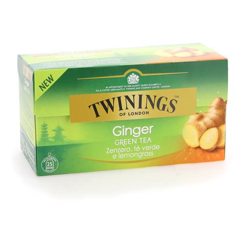 Twinings Te verde 25ff x12 Zenzero