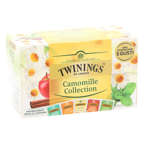 Twinings Infusions 20ff x8 Camomilla Collection