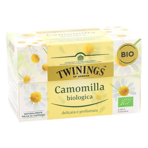 Twinings Infusions 20ff x6 Camomilla biologica 2017