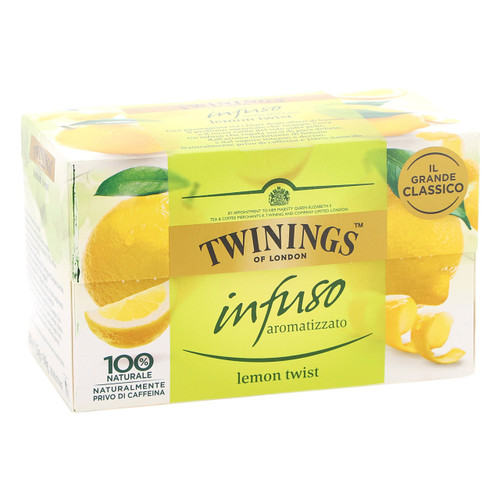 Twinings Infusions 20ff x6 Lemon Twist 2017