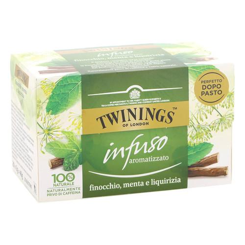 Twinings Infusions 20ff x6 Finocchio, Liquirizia +